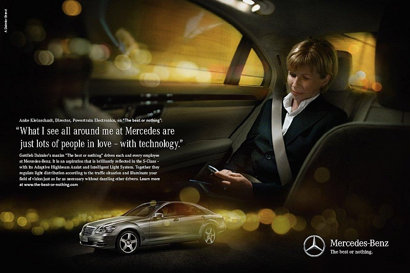 Mercedes launches new slogan: The best or nothing