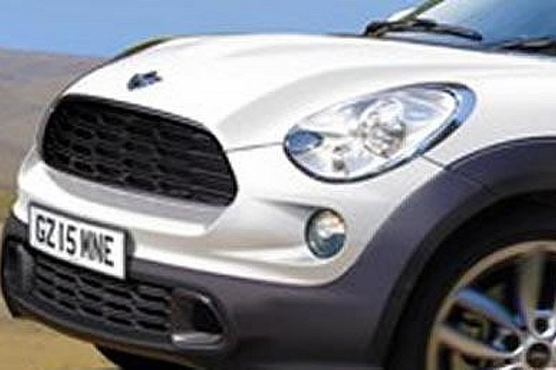 MINI considering 2-door off-road coupe SUV