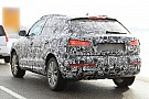 2012 Audi Q3 spied on the road