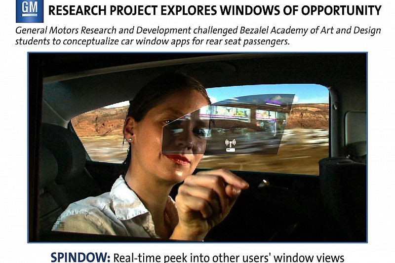 GM envisions interactive rear windows [video]
