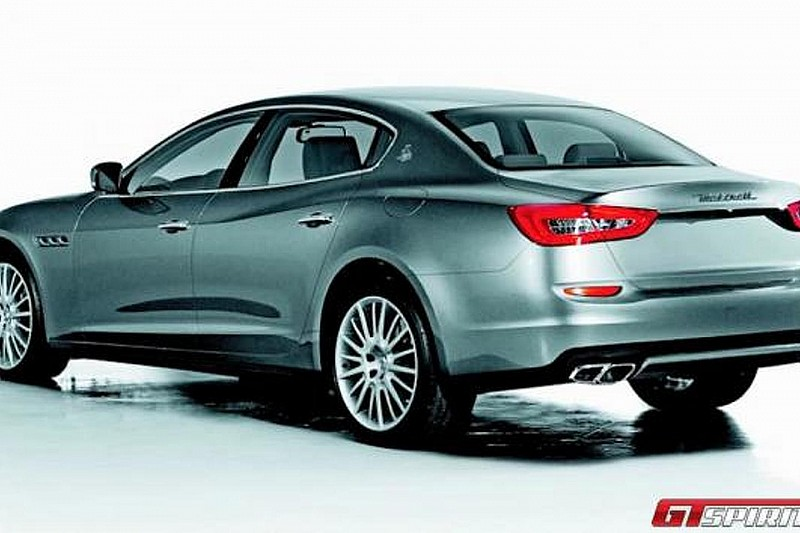 This is not the 2013 Maserati Quattroporte [UPDATED]