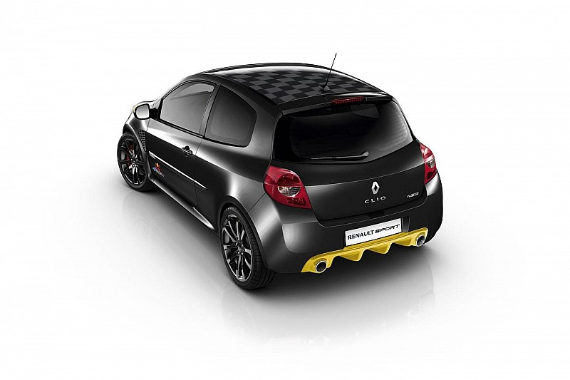 Renault Clio RS Red Bull Racing RB7 announced