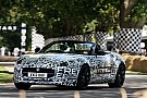 Jaguar F-Type prototype goes topless at Goodwood