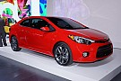2014 Kia Forte Koup uncovered in New York