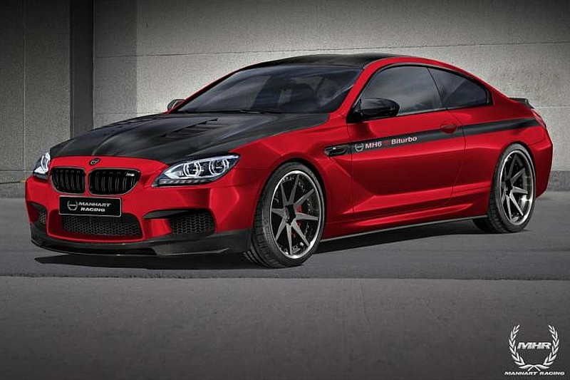 Manhart Racing previews BMW M6 Coupe tuning program