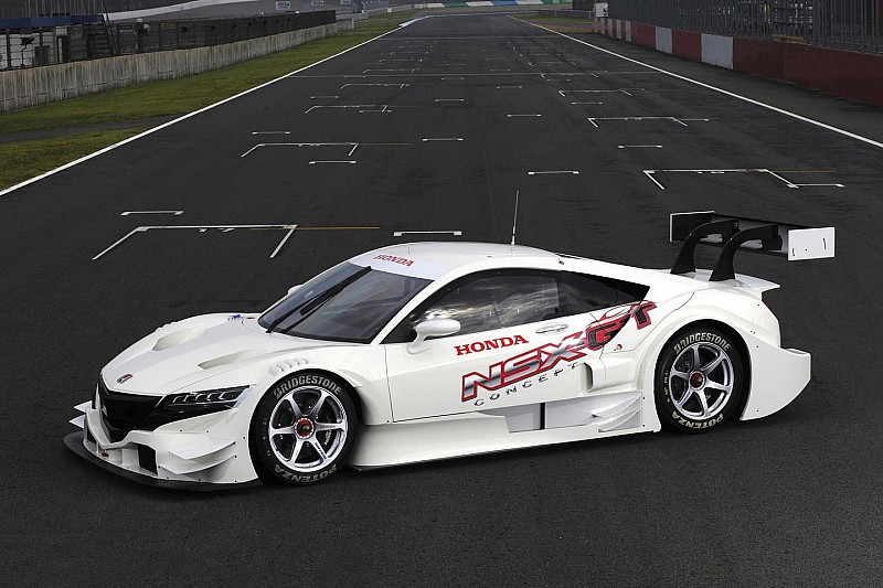 Honda NSX Concept-GT breaks cover