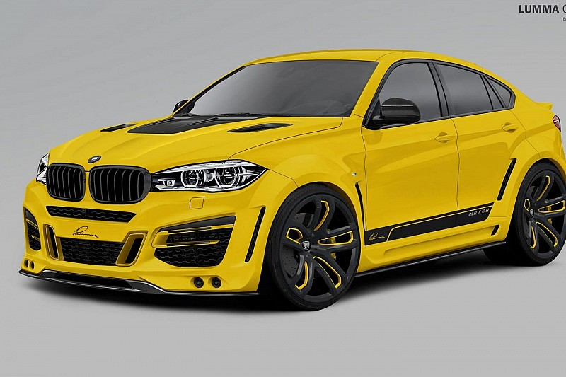 Lumma Design previews 2015 BMW X6 tuning program