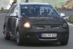 2009 Hyundai i20 spy shots