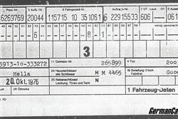 Data sheet of Sachinidis' Mercedes-Benz