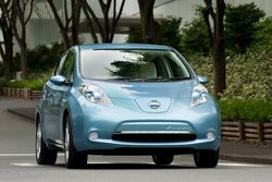 2010 Nissan Leaf Electric Vehicle 18.03.2010