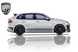 Lumma CLR 550 GT design illustration based on 2011 Porshe Cayenne 12.05.2010