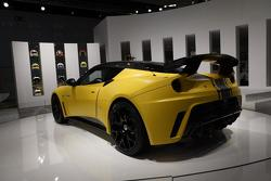 Lotus Evora GTE road car live in Frankfurt