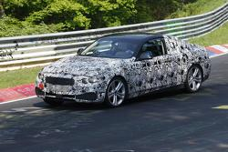 BMW 4-series Coupe prototype on Nurburgring 24.05.2012