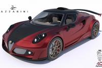 Lazzarini Design teases their twin-turbo Alfa 4C Definitiva with 738 bhp
