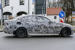 2018 BMW 3 Series prototype spied