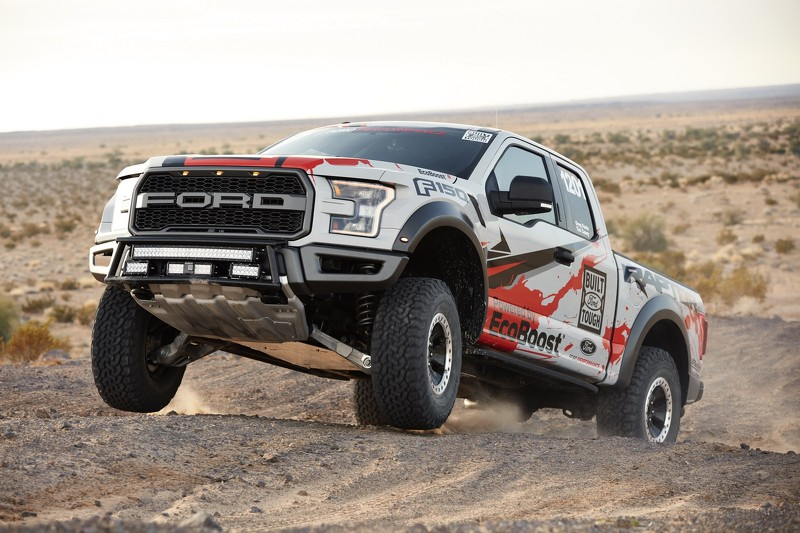 2017 ford f 150 raptor race truck unveiled. Black Bedroom Furniture Sets. Home Design Ideas
