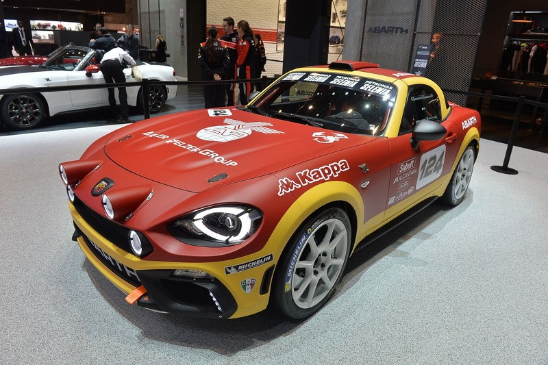 Lastest Abarth 124 Spider Rally Debuts In Geneva With 300 Hp
